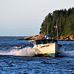 Maine Seascape Photography—Lobster Boat