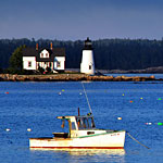 Maine Landscape Photography— Prospect Harbor Lighthouse